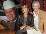 'Larry and I would have a glass of champagne at 7am': Dallas stars Patrick Duffy and Linda Gray reveal the secrets of their late cast mate Larry Hagman