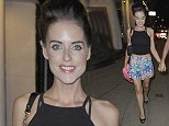 18 Aug 2014 - HALE - UK  STEPH WARING AND NADINE MERABI AT VICTORS RESTAURANT IN HALE  BYLINE MUST READ : XPOSUREPHOTOS.COM  ***UK CLIENTS - PICTURES CONTAINING CHILDREN PLEASE PIXELATE FACE PRIOR TO PUBLICATION ***  **UK CLIENTS MUST CALL PRIOR TO TV OR ONLINE USAGE PLEASE TELEPHONE   44 208 344 2007 **