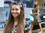 Lauren who? Smiling Michelle Keegan appears unconcerned as it's reported her fiance Mark Wright's ex has been lined up for Celebrity Big Brother