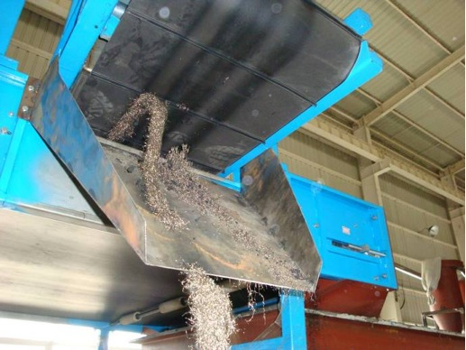 tire wire magnetic separator