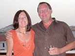 Fightback: Jeff & Joyce Halsall on holiday in Tenerife in 2009. Their flight home was delayed for 22 hours