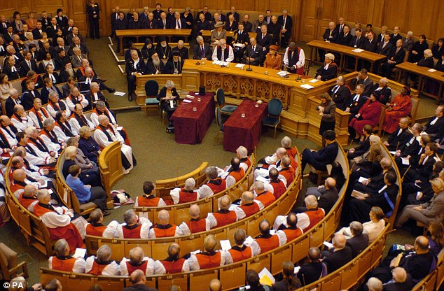 Sources are confident that the Synod, (pictured) will defeat the motion as it did in November