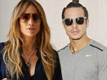 Back together? Jennifer Lopez tries to hide when spotted in car with Casper Smart... two months after their split