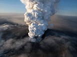 Ash cloud threat: The volcano in southern Iceland's Eyjafjallajokull glacier caused travel chaos in 2010