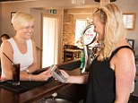 Waving cash goodbye: Alex Wilson likes her contactless card