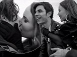 EXCLUSIVE: Upcoming Australian singer May enjoys a smooch-a-thon in her new music video with Glee heartthrob Samuel Larsen
