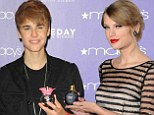 Justin Bieber and Taylor Swift cause a stink as Elizabeth Arden blames their fragrances for the company's huge financial loss
