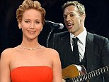 The news that Jennifer Lawrence (right) and Chris Martin have been dating sent shockwaves around the celebrity world