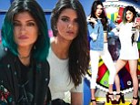 Get ready! Kendall and Kylie Jenner shared a promotional picture of their new Kendall And Kylie Madden Girl collection
