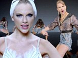 The many faces of Taylor Swift: Pop star goes from ballerina to hotpants-wearing fly girl in new music video Shake It Off