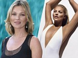 Best of British: Kate Moss is the highest paid Brit model in the world... and the only 40something on top earning list