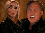 Watch your mouth! Terry Dubrow screamed at his rival across the dinner table: 'We have a term for you in medicine - it's called penis' during the season finale of The Real Housewives Of Orange County