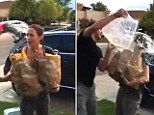 Good one: John Krasinski gave wife Emily Blunt short notice of her participation in the Ice Bucket Challenge