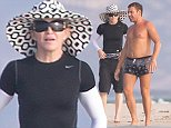 EXCLUSIVE Madonna is seen on holiday with friends in Formentera, SPAIN, 19 AUGUST 2014 20 August 2014. Please byline: G Tres/Vantagenews.co.uk