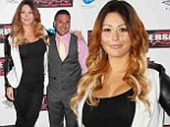Jwoww is back on the red carpet just five weeks after giving birth as she joins Ronnie Magro at Jersey Shore Massacre premiere