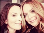 Lindsay Lohan had nothing but nice things to say about her Mean Girls co-star Tina Fey on Tuesday. The 28-year-old actress shared a snap from a random encounter with the 44-year-old comedian in which she calls her 'an inspiring, funny, beautiful old friend'.