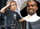 Uncle Kanye would be proud! Kourtney Kardashian's son Mason Disick rocks the rapper's 'uh-huh honey' T-shirt