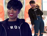 It's her world! Jennifer Hudson performs new single Dangerous during Today Show summer concert appearance... talks raising her son while promoting her third album JHud