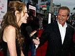 """Angelina Jolie 'once told Pat O'Brien she was """"really horny"""" and looking for a man' in swanky hotel elevator"""