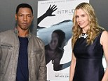 Mystery stars: Kittles (left) describes the BBC America show, co-starring Mira Sorvino (right) as a cross between noir drama, a detective series and your worst nightmare (pictured at a BAFTA event)