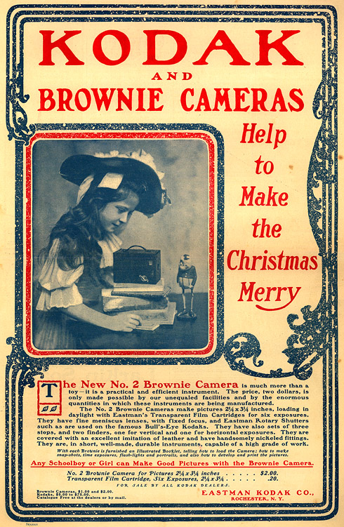 Kodak Brownie No. 2 Ad, 1901