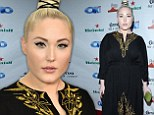 David Hasselhoff's model daughter Hayley goes for grown-up glamor at Hollywood party... days before turning 22