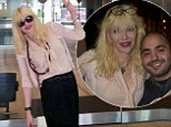 Courtney shares the love! The feisty singer is only too happy to pose with Australians during a shopping trip in Sydney