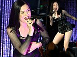 HOLLYWOOD, CA - AUGUST 21:  Singer Jessie J performs onstage at A Beauty Block Party Featuring Jessie J And Becky G presented by COVERGIRL And MTV at Boulevard 3 on August 21, 2014 in Hollywood, California.  (Photo by Imeh Akapanudosen/MTV1415/Getty Images for MTV)