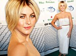 Game, set, match! Julianne Hough wins in white at the US Open Kick-Off Party