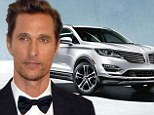 Matthew McConaughey signs multi-year deal to be face of American car company Lincoln months after winning Oscar