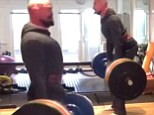Well, he is Wolverine! Hugh Jackman shows off his superhero strength as he deadlifts 400lbs