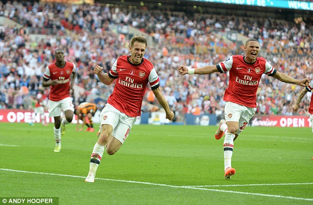 No 1: Aaron Ramsey has grown to become Arsenal's most important player