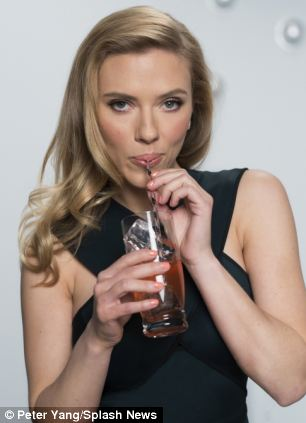 Cash on tap: Scarlet Johansson is being paid £243,000 by SodaStream to appear in their advert