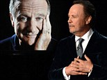 'He was the greatest friend you could ever imagine': Billy Crystal's moving tribute to Robin Williams leaves Emmy Awards audience in tears
