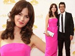 It's on! Zooey Deschanel and producer Jacob Pechenik make their red carpet debut as a couple at the Emmy Awards