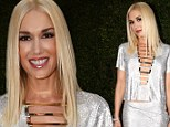 Is she ageing in reverse? Gwen Stefani, 44, looks incredibly youthful in glitzy silver gown at her first Emmy awards