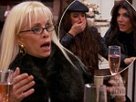 RHONJ's Victoria Gotti drops a bomb as she informs her co-stars just who Teresa Aprea's husband cheated on her with (and you'll never guess!)