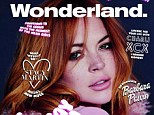 Back to her best: Lindsay Lohan will be gracing the front cover of Wonderland magazine next month