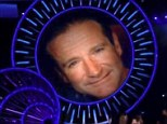 Short tribute: The MTV Video Music Awards paid tribute to the late Robin Williams on Sunday with a brief montage