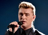 Stay with him: After an introduction by Kim Kardashian, Sam delivered a chill-inducing performance, showing off his rich vocals throughout the ballad