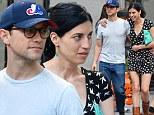 Joseph Gordon-Levitt enjoys a touchy feely stroll with girlfriend Tasha McCauley as they make rare public appearance together