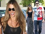 Can't keep their hands off each other! Sofia Vergara and Joe Mangianello were seen holding hands during their romantic date in Malibu, Californai on Saturday