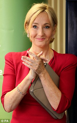 Abused: Balanced, thoughtful and intelligent J.K. Rowling was deluged with nationalist abuse after revealing her £1million donation to Scotland's No Campaign