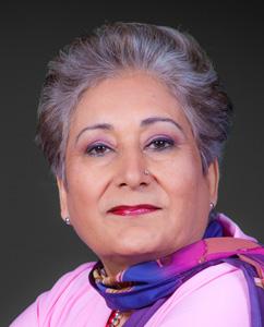Raheel Raza, author of Their Jihad - Not My Jihad