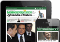 Jyllands-Posten på tablets, smartphones & Apps