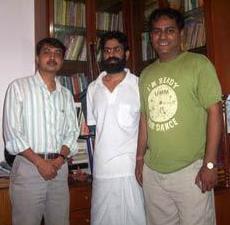 संजय बेंगाणी, अभय तिवारी और शशि सिंह