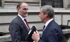 Douglas Carswell and Ukip leader Nigel Farage