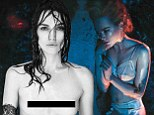 Keira Knightley goes topless while Nicole Kidman strips to satin lingerie and suspenders for sizzling new magazine shoot