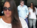 O.J. Simpson's daughter Sydney in rare sighting as she grabs lunch with new boyfriend at Beverly Hills hotspot