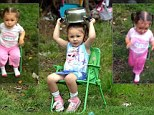 Scarlett-Rose Davis begged her grandparents to let her take part in the charity craze which has swept the world
